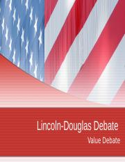 Lincoln-DouglasDebate.ppt