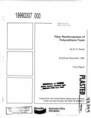 Fiber Reinforcement of Polyurethane Foam Kansas City Division.pdf
