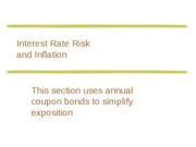 03B Fin 301 Interest Rate Risk Ulearn
