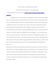 Texas Criminal Laws Media Analysis Project.docx