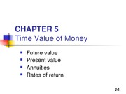 Ch5 Time Value of Money _1