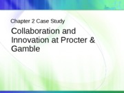 Collaboration and Innovation at Procter & Gamble