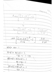 MTH 311 - Exam 1 Review Problems