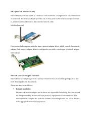 Network Interface Card.docx