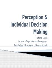 Chapter 6 - Perception & Individual Decision Making.pptx