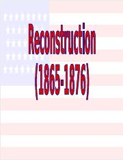 Reconstruction.ppt