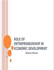 c0c27Role of Entrepreneurship in economic development ppt.pptx