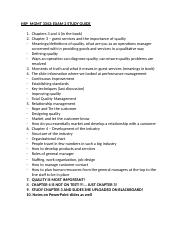 HSP_MGMT 3343 Exam 2 Study Guide.docx