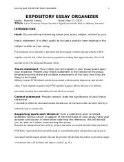 EXPOSITORY ESSAY ORGANIZER template document.docx