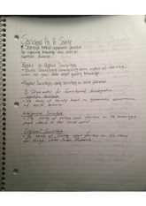sociological research and reasoning notes