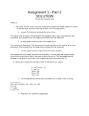 Assignment1-Part2Solution
