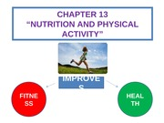 CHAPTER 13 NUTRITION