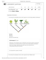 Cladograms Gizmo Answer Key