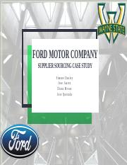 Ford Motor Final
