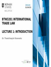 Lecture 1 Introduction to International Trade Law.pptx