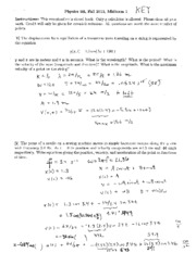 Physics 9B Midterm Solutions 1