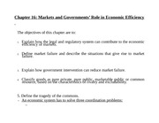 chapter 16 government and markets