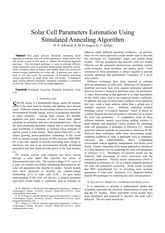 Solar-Cell-Parameters-Estimation-Using-Simulated-Annealing-Algorithm