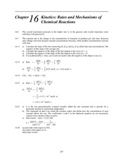 Homework L Solutions on Principles of Chemistry
