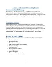 Lesson 5 - The Whistleblowing Process.docx