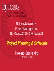 PM 05 ch7a Project Planning JK