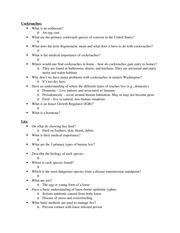 Entomology 102 Midterm 2 Study Guide