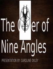The Order of Nine Angles.pptx