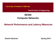 EE450-U1-PerformanceMeasures-Nazarian-Spring10