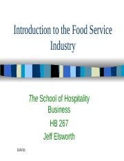 HB_267_Introduction_foodservice industry_posted
