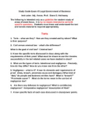 torts product liability contracts fall 2010