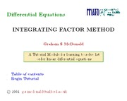 ordinary-differential-equations-integrating-factor
