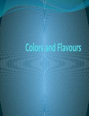 03 Colors and Flavours