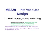 C2-Shaft Layout, Stress, Fatigue (1)