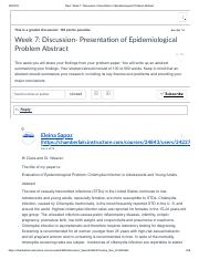 CLASS RESPONSE Topic_ Week 7_ Discussion- Presentation of Epidemiological Problem Abstract.pdf