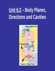 Planes & Directional Terms.ppt