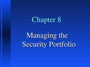 Bank Mgt, 5th Ed, Chapter 8