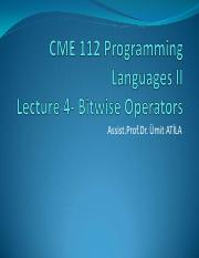 CME 112_Lecture-4_BitwiseOperators.pdf