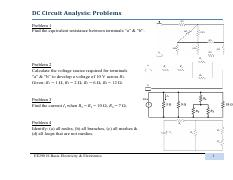 01 DC Circuit Analysis1-P&