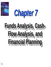 Chapter-7- Fund Analysis CashFlow Analysis and Financial Planning.ppt