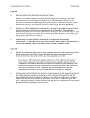 Accounting Research Methods Assignment 1
