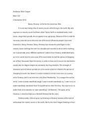 MUSL 152 Country Music Chesney Paper