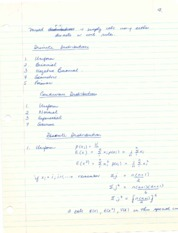 4 Probability - distributions