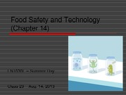 4food safety and technology