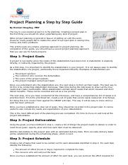 Project_Planning-_A_Step-by-step