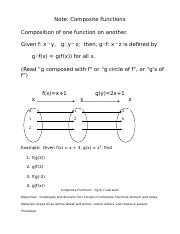 Geometry Composition Transformation Worksheet Geometry