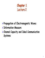 Chapter 1-Lecture 2