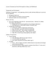Psychology - Lecture 6 Notes 4