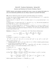 MATH 287 Spring 2015 Practice Midterm 2 Solutions