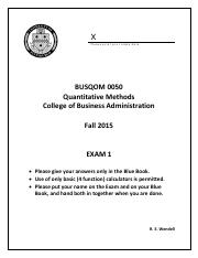 Exam 1 Fall 2015 with Answers.pdf