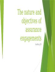 Nature and objectives of assurance engagements.pptx